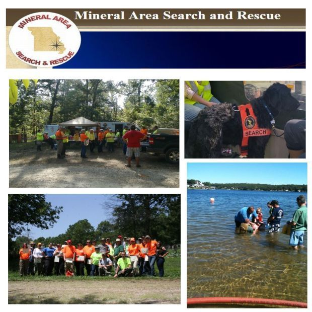 Mineral Area Search and Rescue new to area