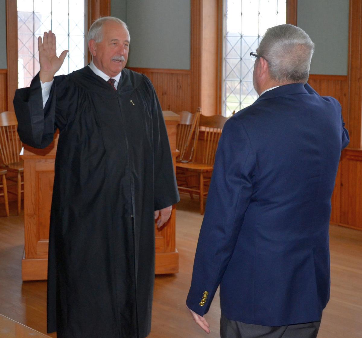 Fulton sworn in