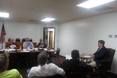Leadington board hears updates from departments