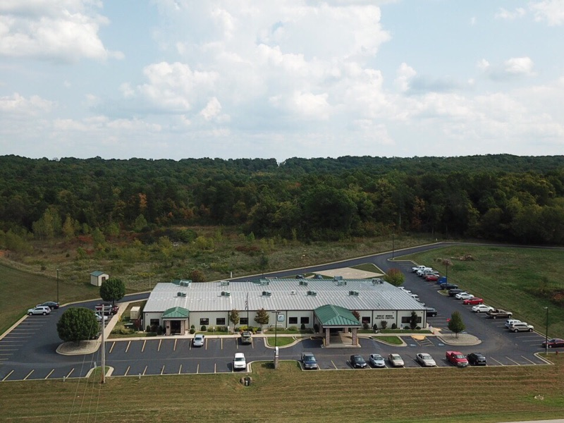 An Aerial View Of Potosi Medical