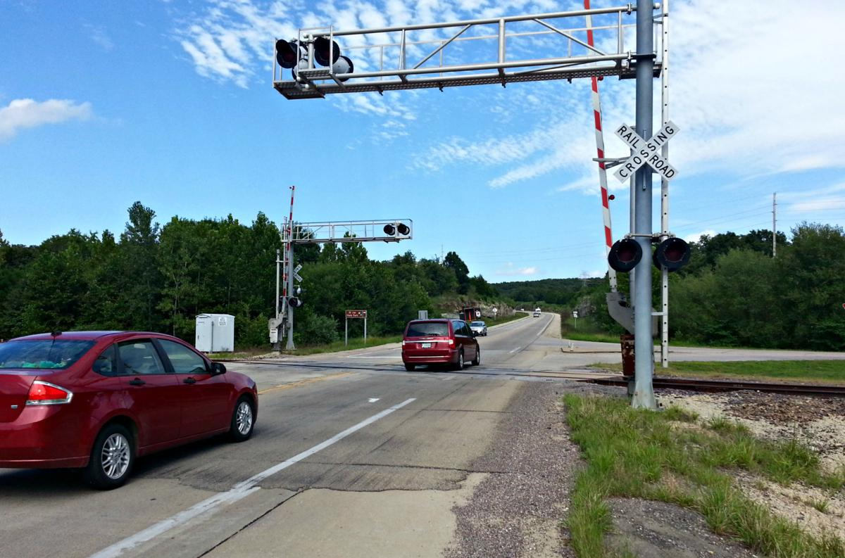 Railroad crossing on Highway 32 to close for one day   Daily