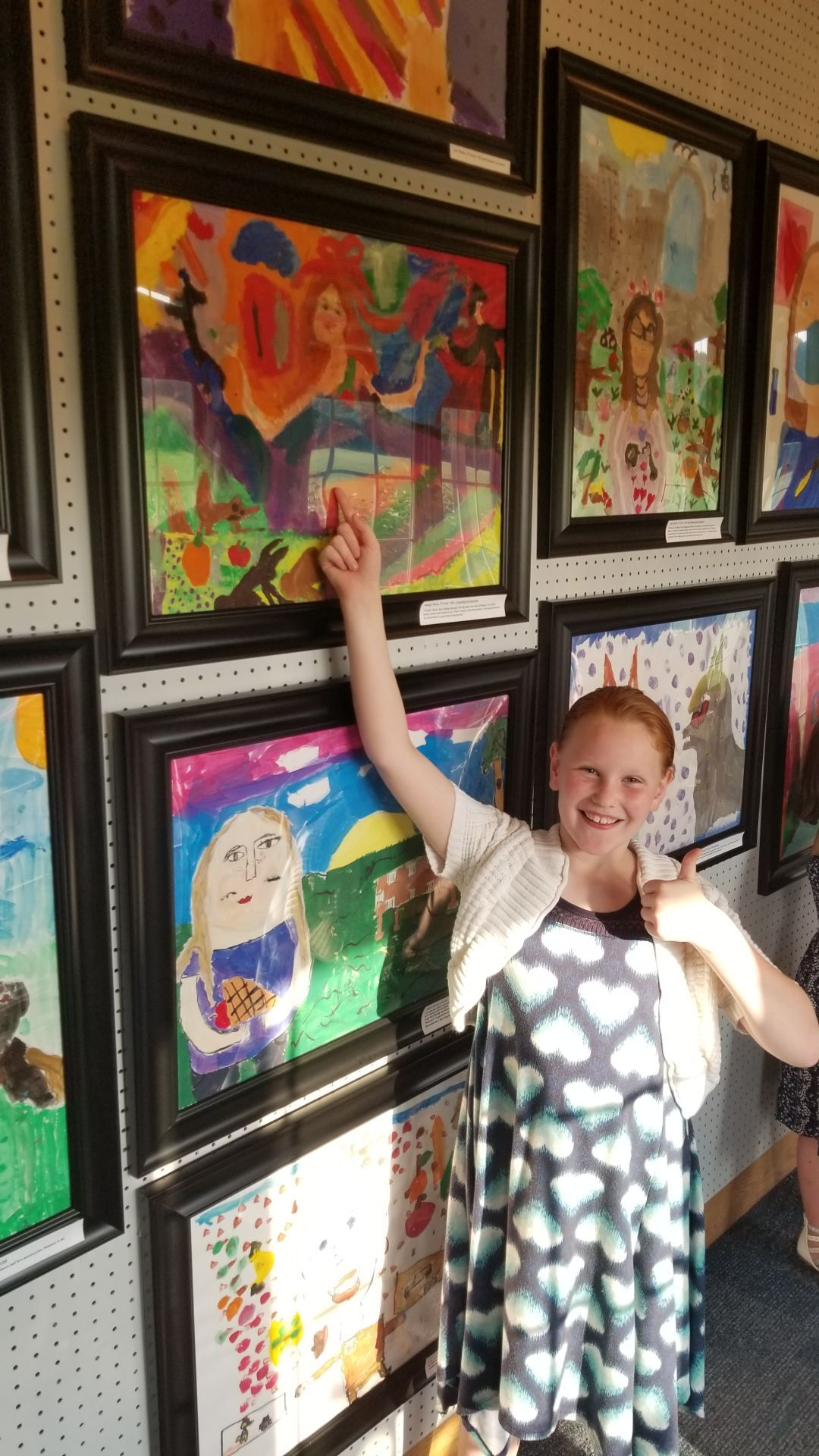 Students' art on display at Battle of Pilot Knob State Historic Site