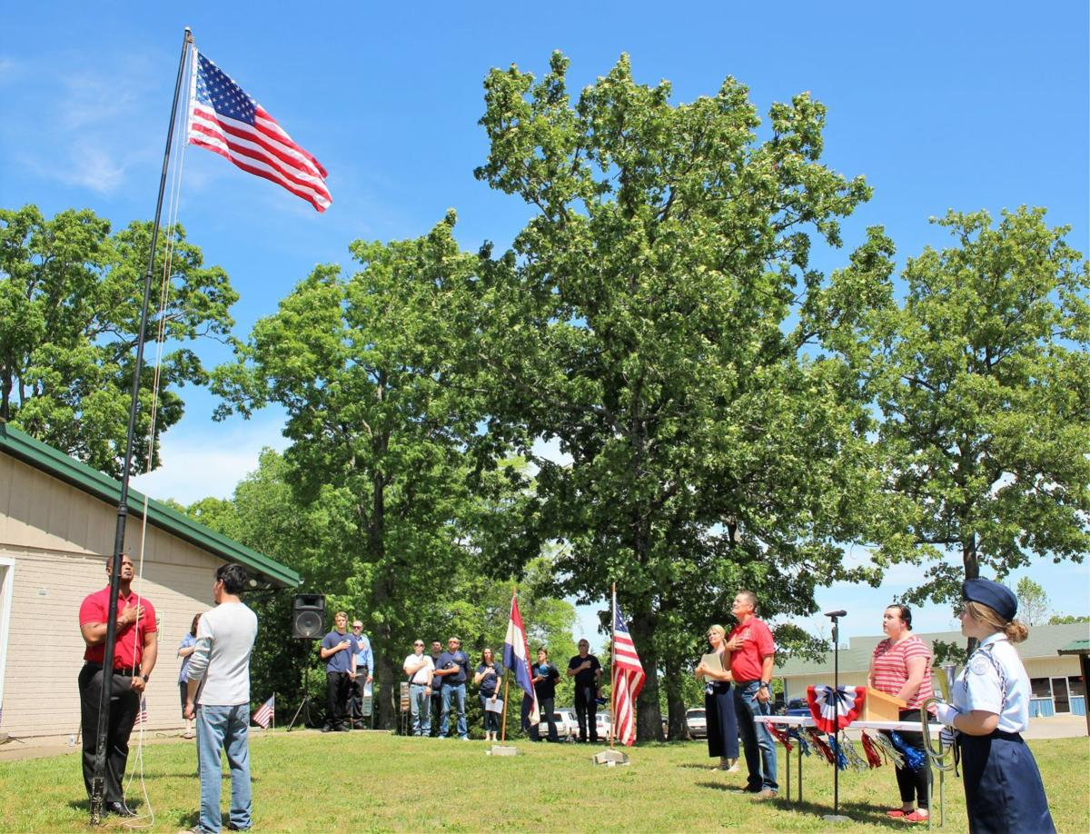 TDL observes Memorial Day with flag raising