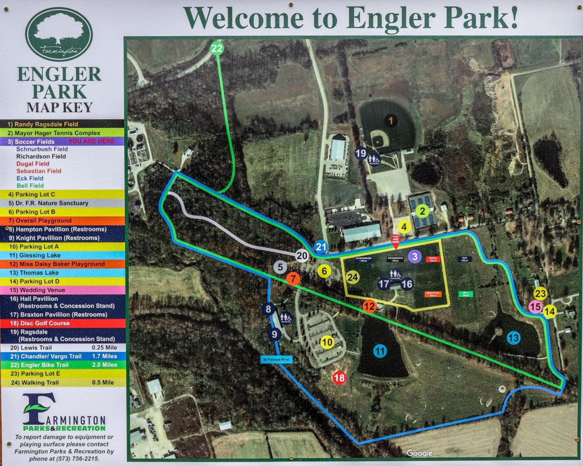 Eagle Scout brings maps to Engler Park