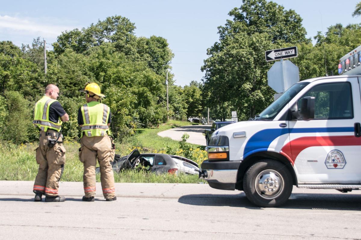 Pedestrian struck in multi car accident
