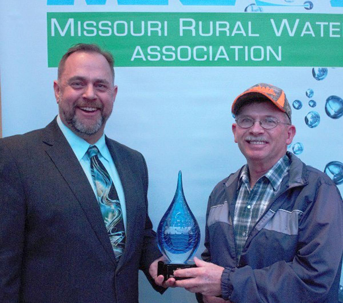 Fredericktown receives MRWA Waster System of the Year award