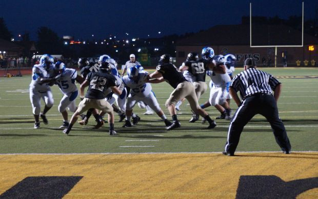 Knights fall to Rams on opening night