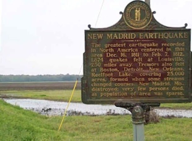 Experts say it's New Madrid's 'fault'
