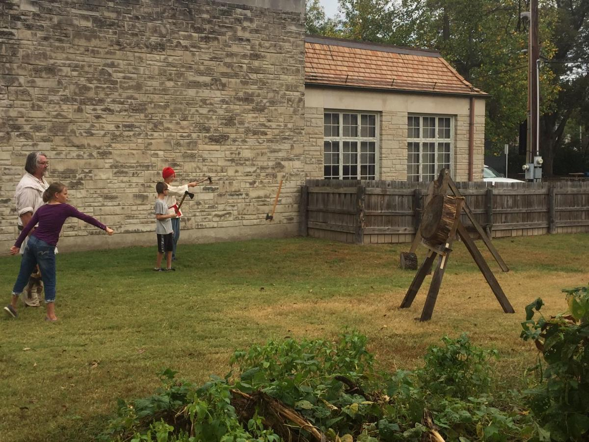 French and Indian War day in Ste. Genevieve