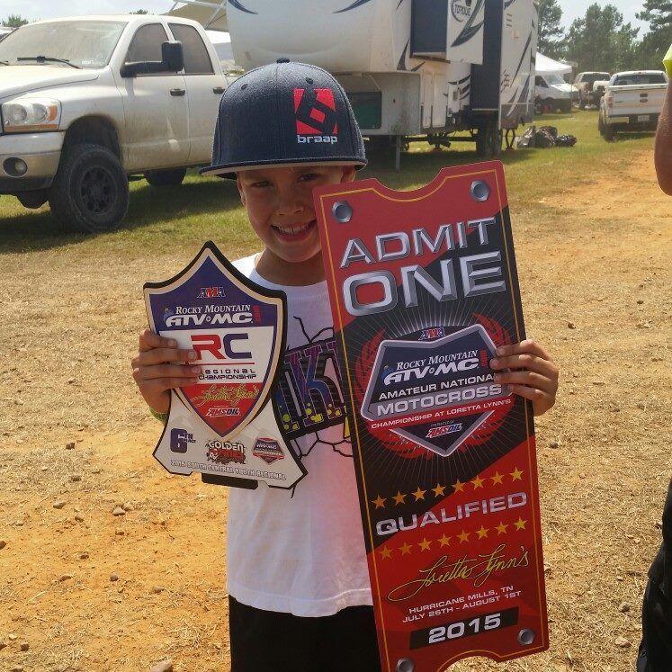 Park Hills boy makes it to world's largest amateur motocross championship