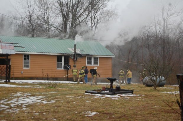 Firefighters responded to two structure fires Thursday morning