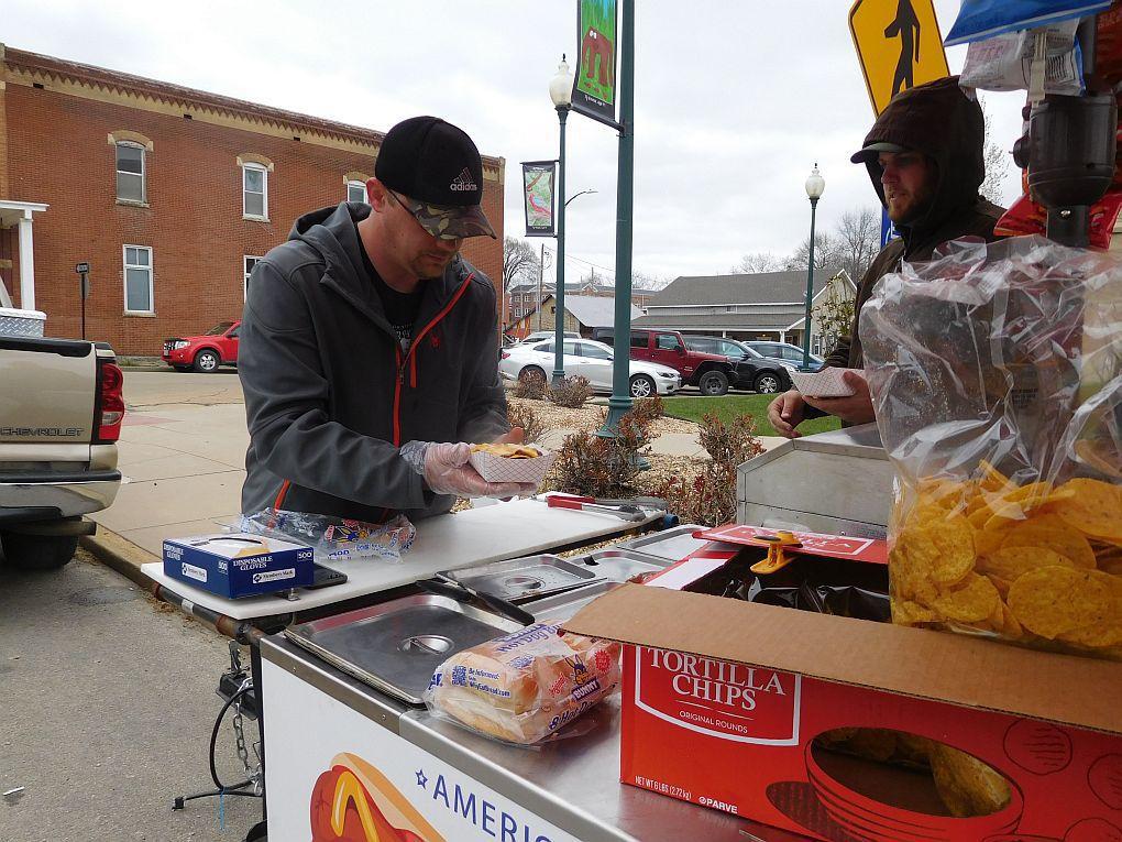 Food cart a downtown treat