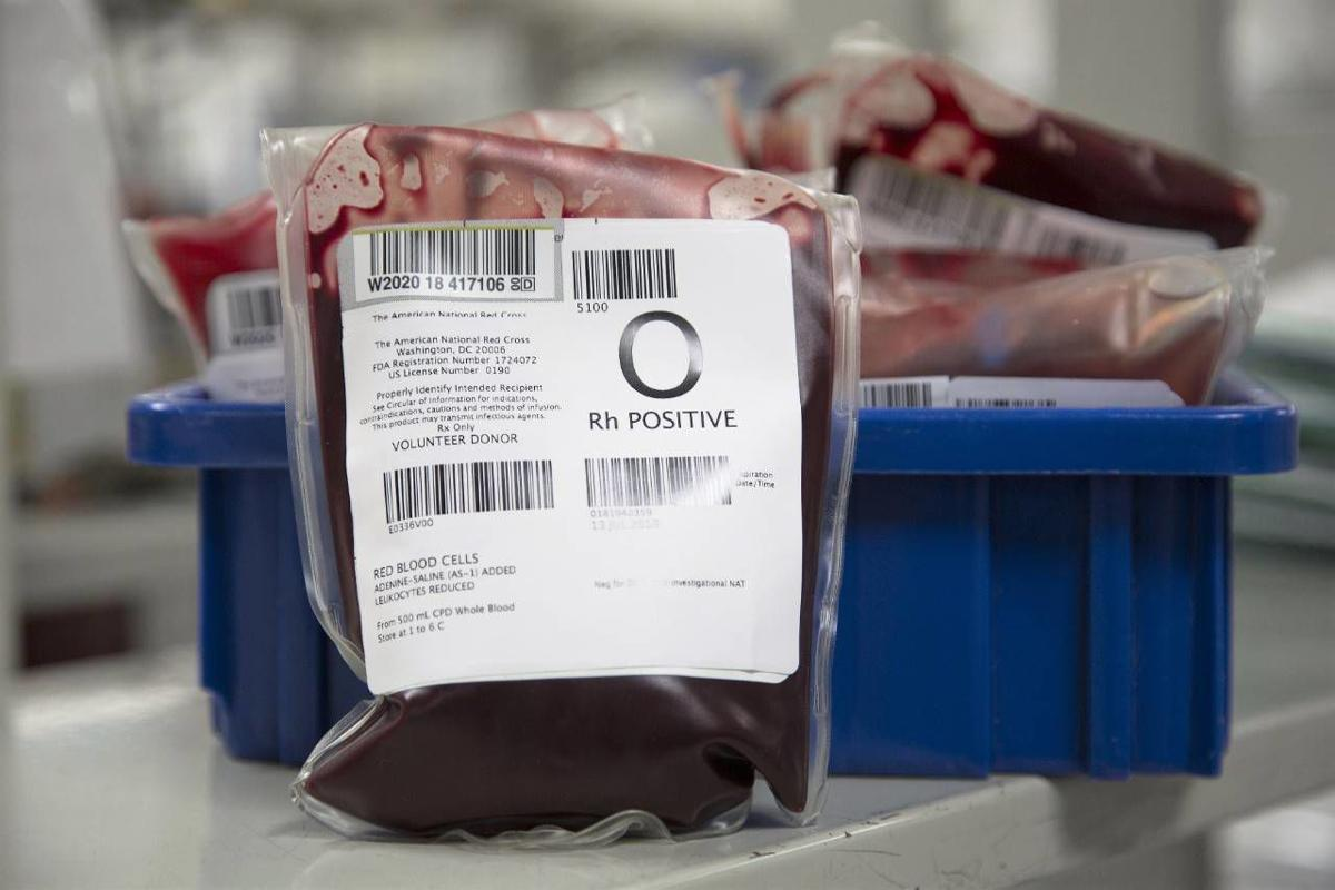 Red Cross: Critical type O blood shortage