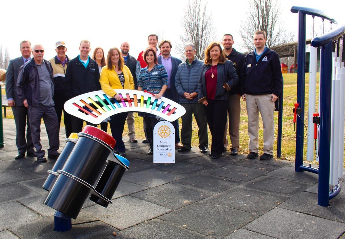 St. Francois County Rotary donates park equipment