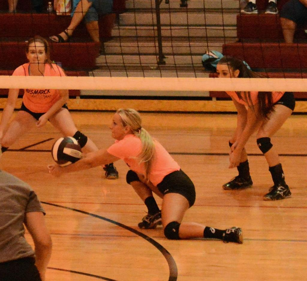 Licking Volleyball Camp - Bismarck HS | Gallery of Pictures