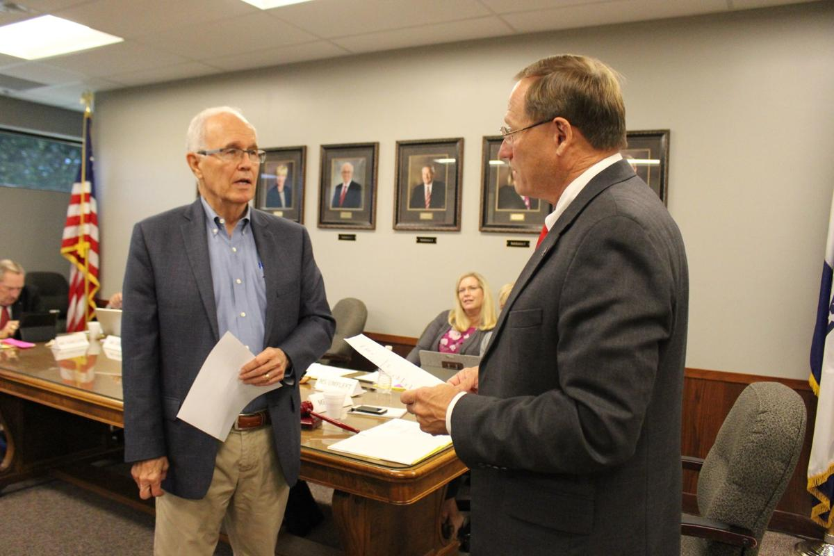 Landrum sworn in as MAC trustee