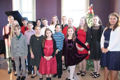 Students excel at winter recital
