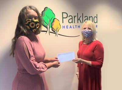 Parkland Health Center Foundation awards 2021 Lipstein Scholarship to Helvey