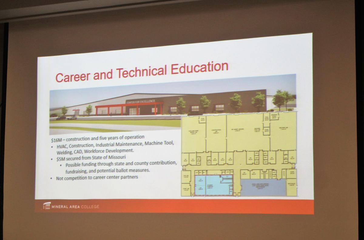 Gilgour gives state of MAC address at board of trustees meeting