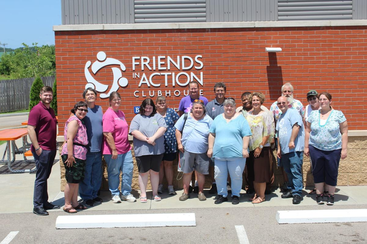 Friends in Action Clubhouse hosts mayor