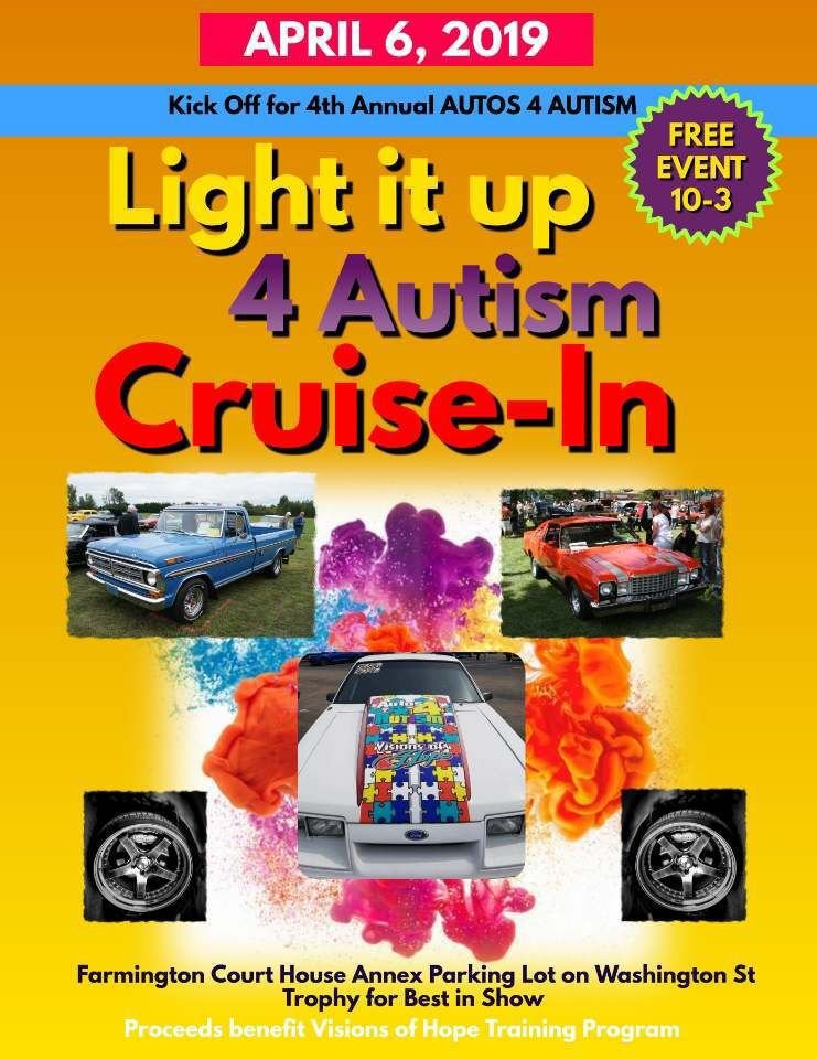 """Light it UP 4 AUTISM"" annual benefit to feature car show this year"