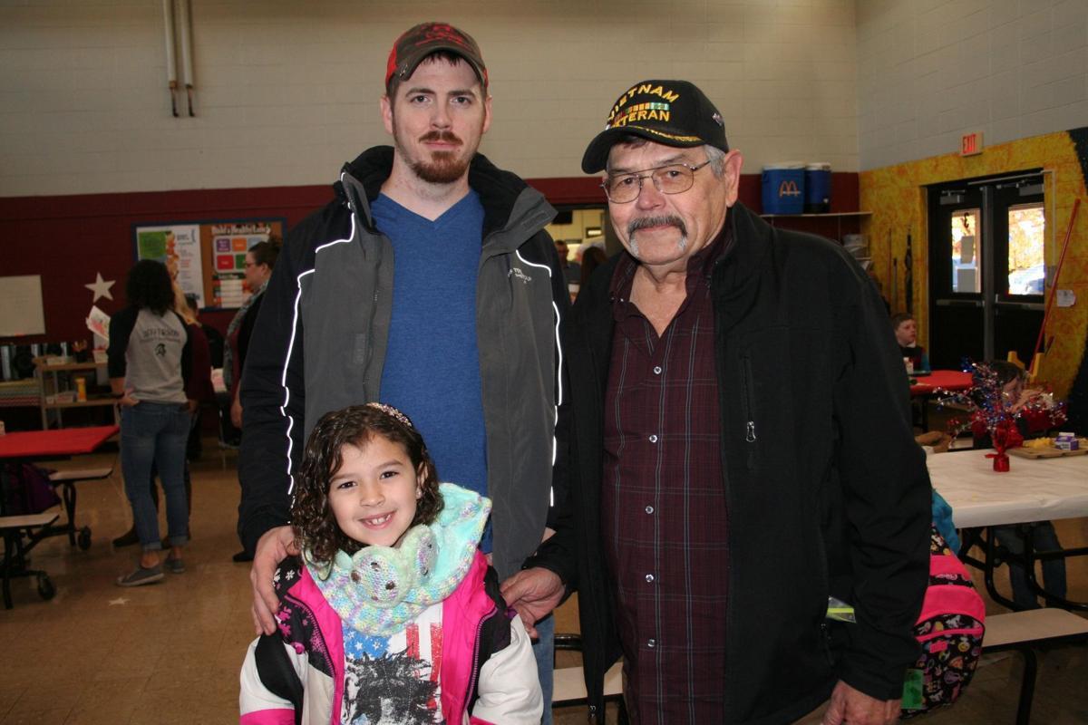 Farmington School District honors veterans