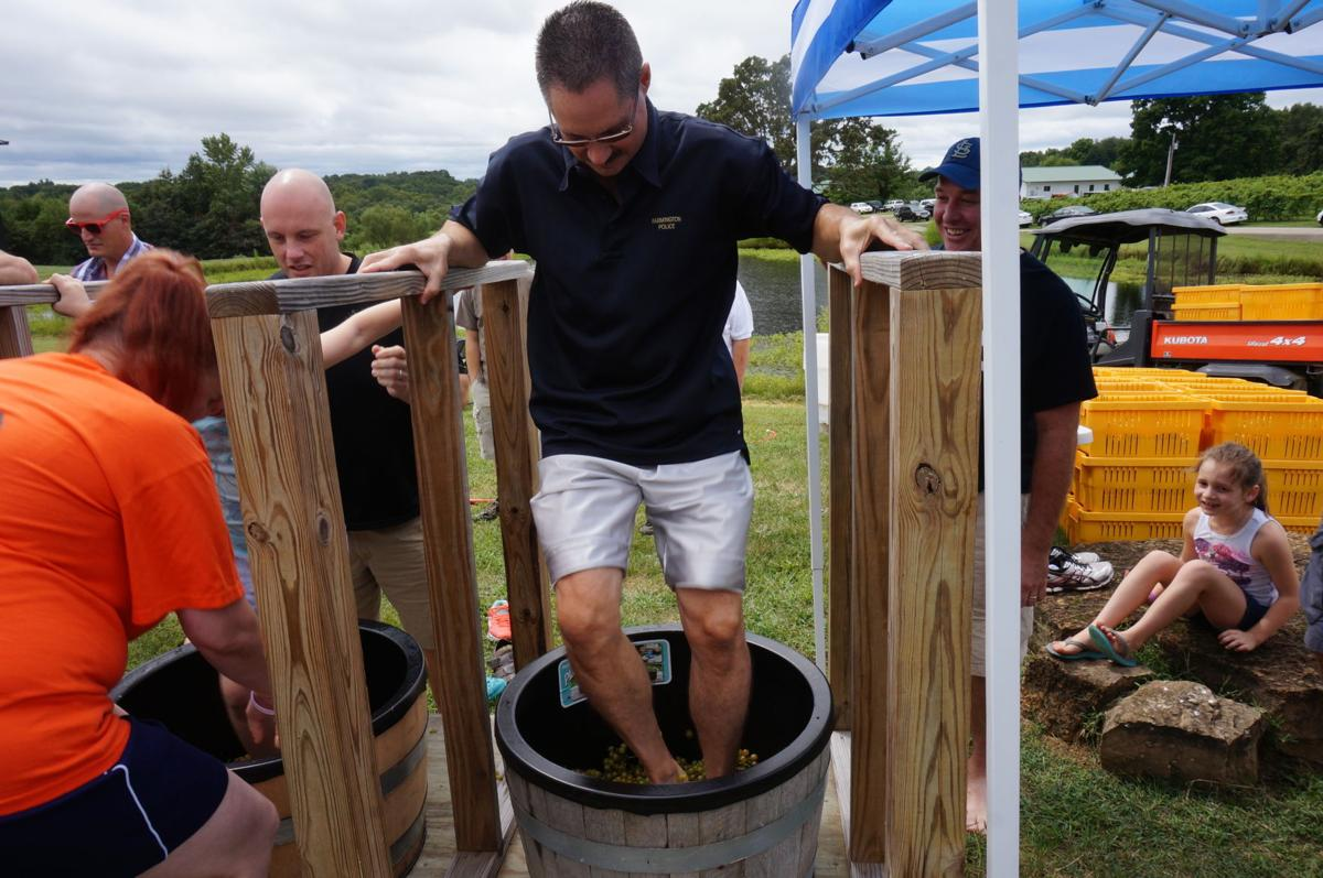 Grape stomp to benefit local charity