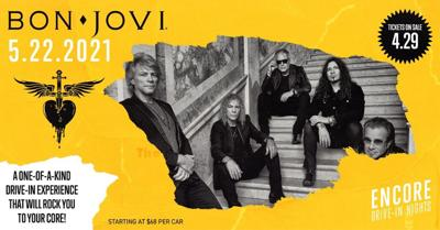 Tickets on sale now for Bon Jovi concert at drive-in