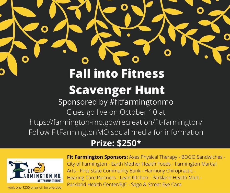 Fit Farmington MO hosting community scavenger hunt