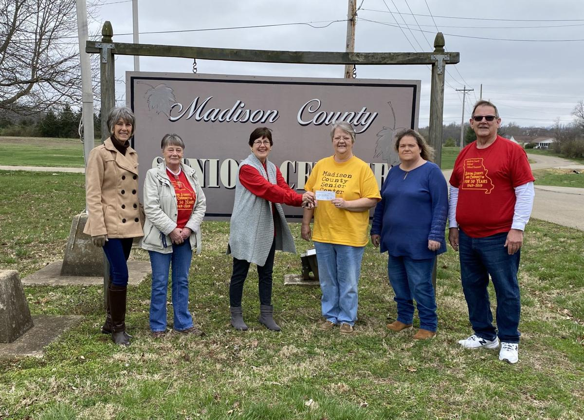 MCRSP donates to Senior Center