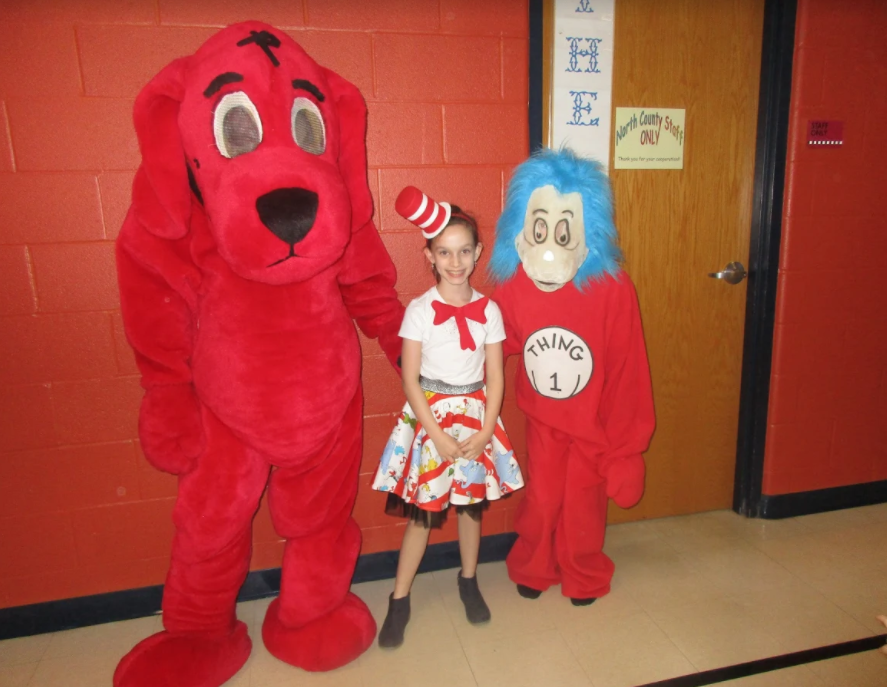 Dr. Seuss Week at the primary