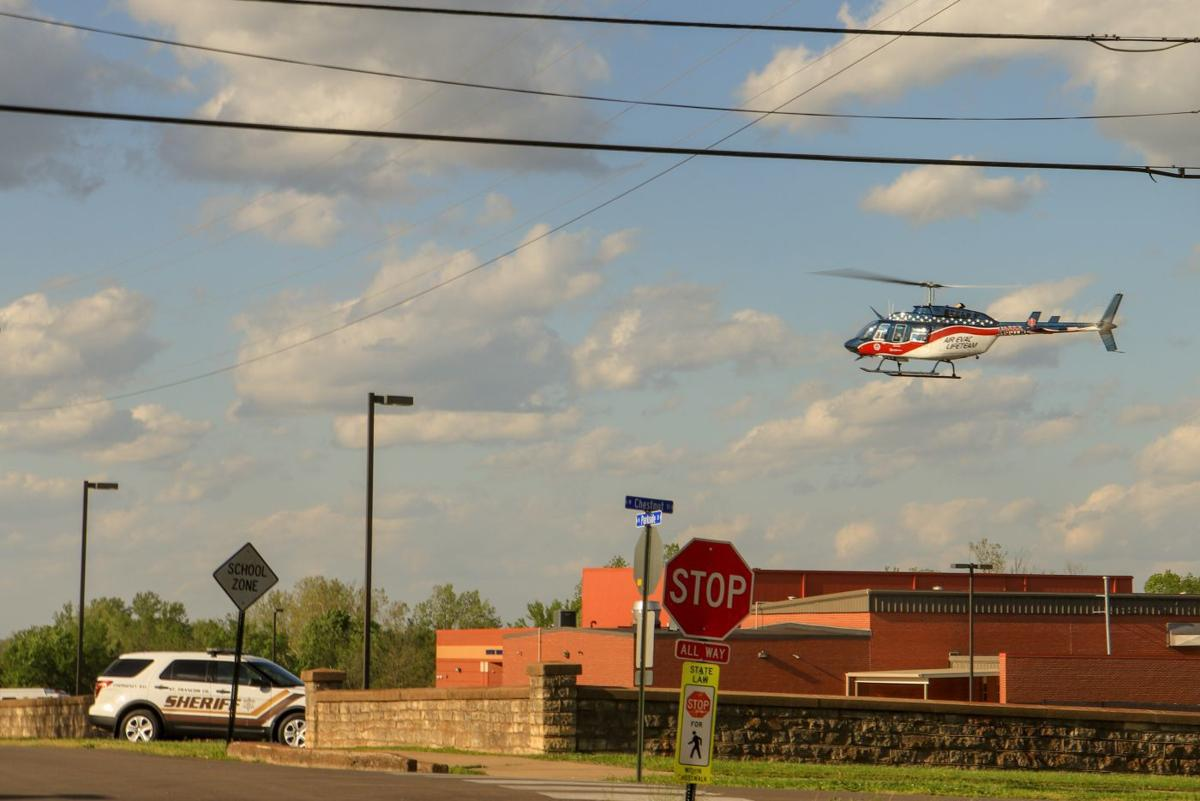 Child recovering after being struck by vehicle
