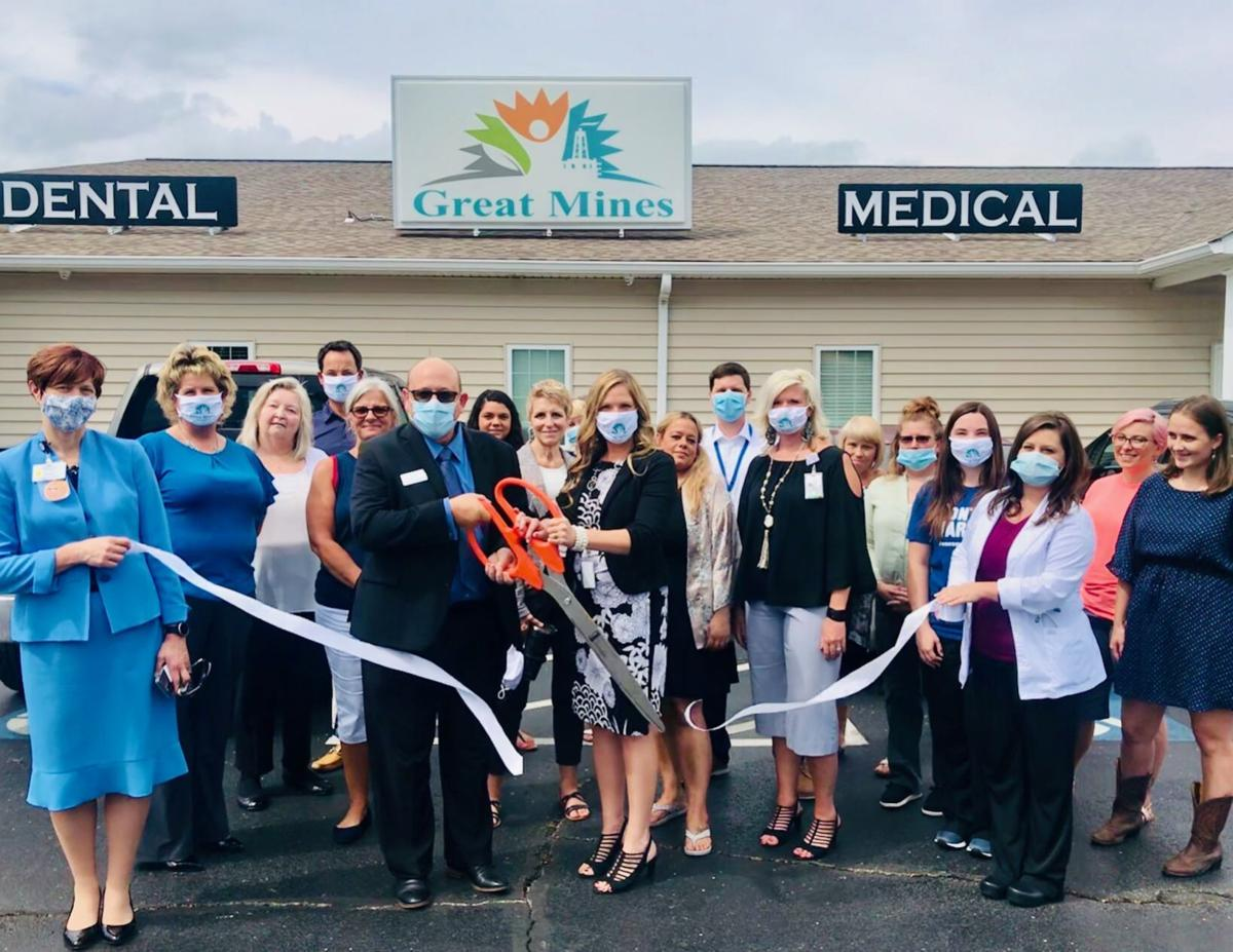 GREAT MINES HOLDS RIBBON CUTTING