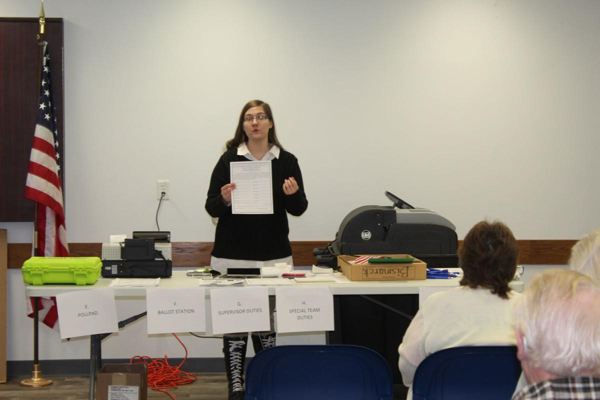 Poll workers train in St. Francois County
