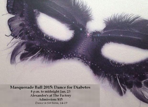 Teen with diabetes organizes Winter Masquerade Ball