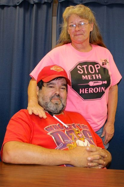 Local woman honored for anti-drug message