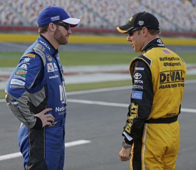 NASCAR Charlotte Qualifying Auto Racing