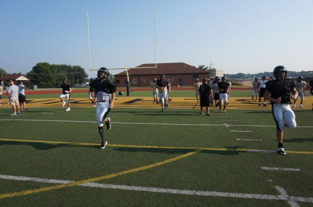 FHS football practices
