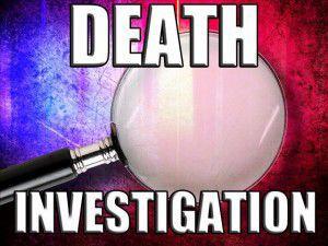 Police investigating a homicide