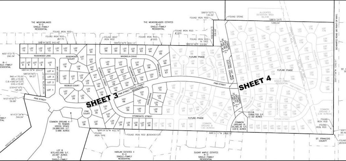 Pine Trails Subdivision in the works