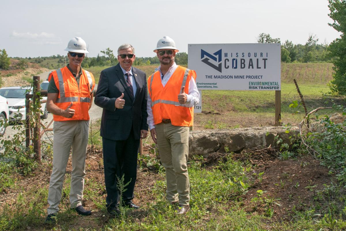Governor Parson visits Cobalt mine