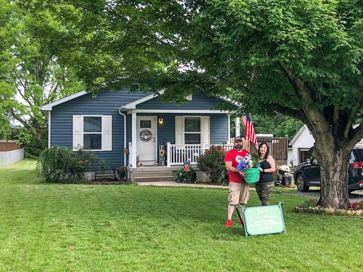 Community Beautification Committee June Yard of the Month