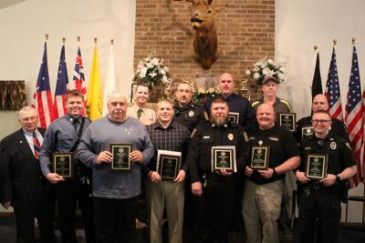 Elks honor local law enforcement employees