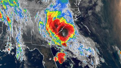 Bertha became a tropical storm and made landfall in less than two hours