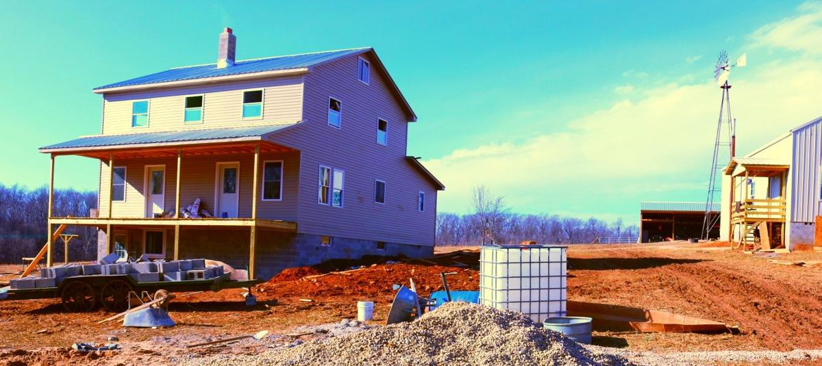 Mennonite home construction