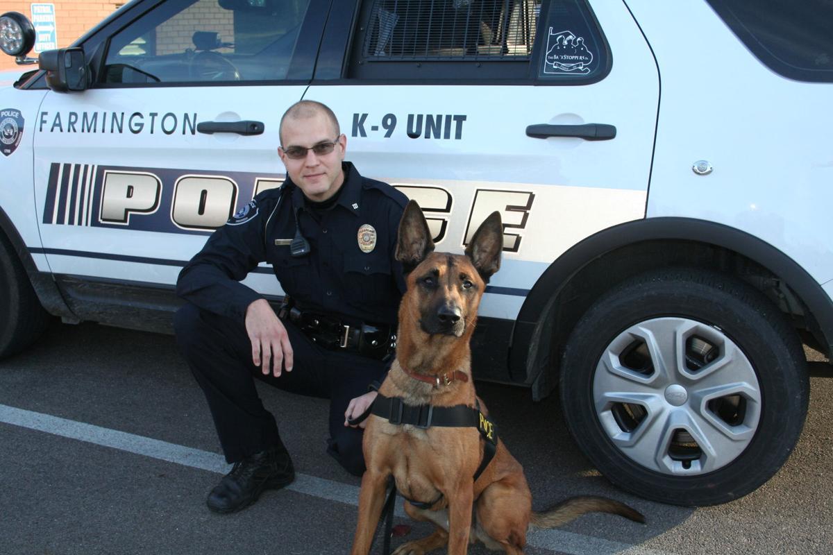 Ringo joins the Farmington Police Department