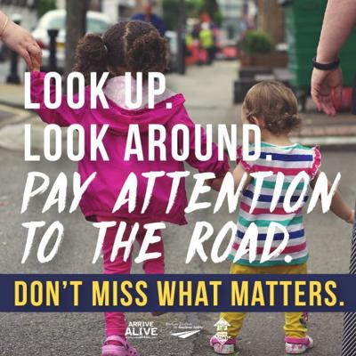Pedestrian awareness campaign kicks off Monday