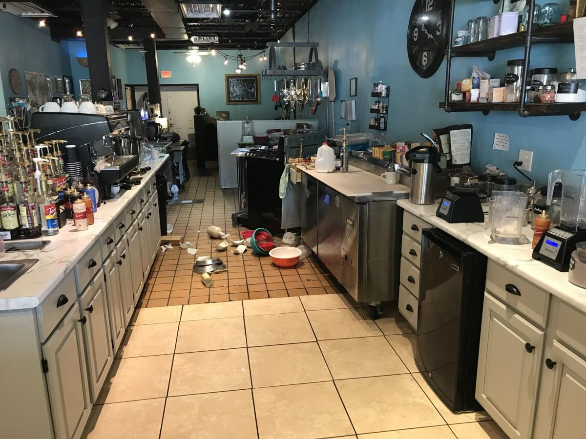 Popular coffee shop closed after vehicle damages building