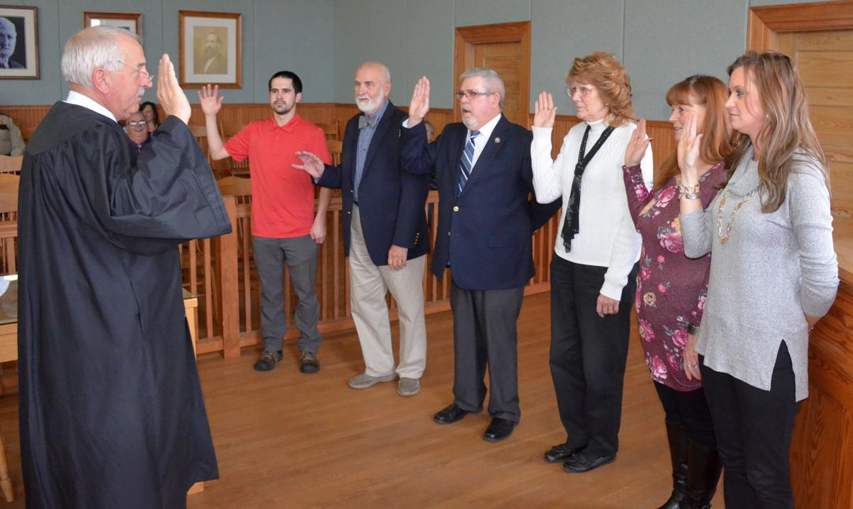 Madison County Officials sworn into office