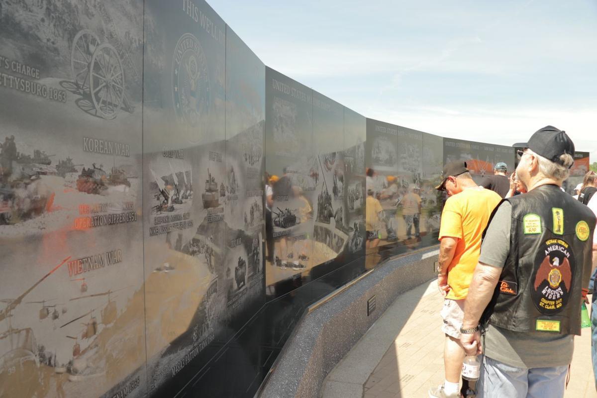 Vietnam Memorial Wall opens in Perryville